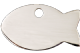 Red Dingo Silver Cat Tags